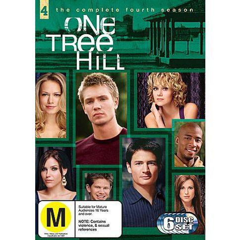 One Tree Hill Season 4 DVD 6Disc