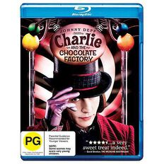 Charlie and The Chocolate Factory Blu-ray 1Disc
