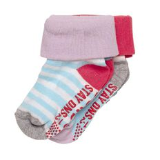 Bonds Baby Girls' Cuffed Socks 2 Pack