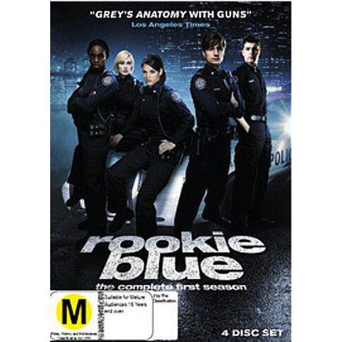 Rookie Blue Series 1 DVD 4Disc