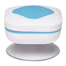 Splashproof Bluetooth Speaker with FM Radio BTS 15 White/Blue