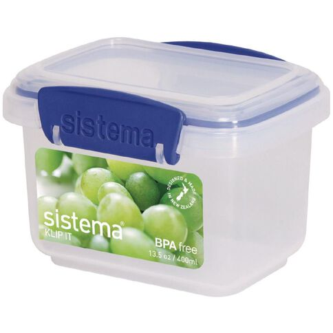 Sistema Klip It Blue Container 400ml