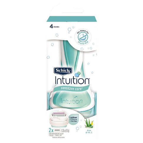 Schick Intuition Plus Sensitive Kit