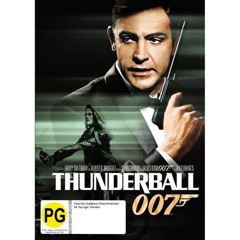 Thunderball 2012 Version DVD 1Disc