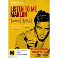 Listen To Me Marlon DVD 1Disc
