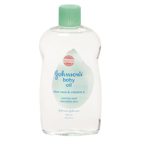 Johnson's Baby Oil with Aloe 500ml
