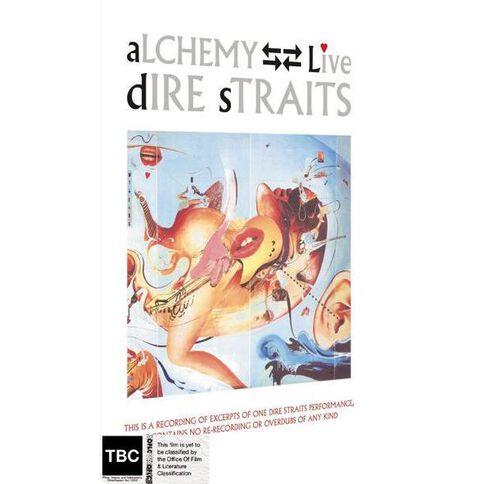Dire Straits Alchemy DVD 1Disc