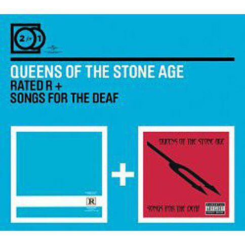 2for1 Rated R/Songs For The Deaf CD by Queens Of The Stone Age 2Disc