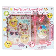 Princess Kits Secret Journal Set Emoji