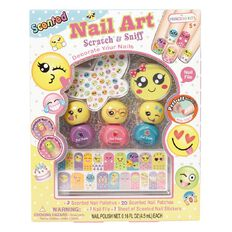 Princess Kits Scented Nail Art Emoji