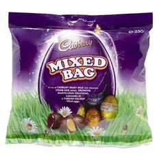 Cadbury Mixed Egg Bag 250g