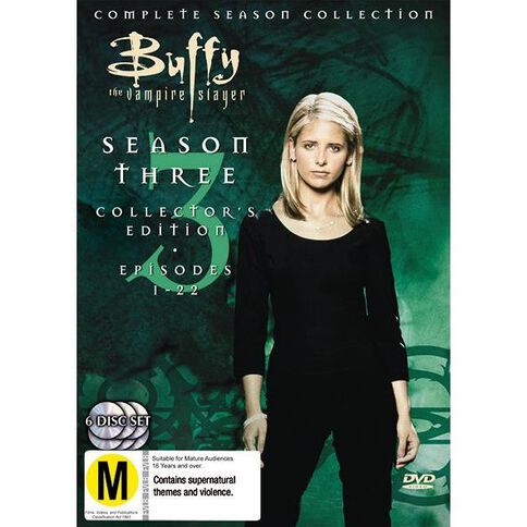 Buffy Season 3 DVD 6Disc