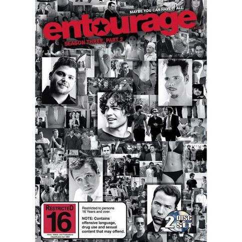 Entourage Season 3 Part B DVD 2Disc