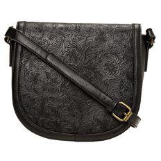 Debut Embossed Handbag