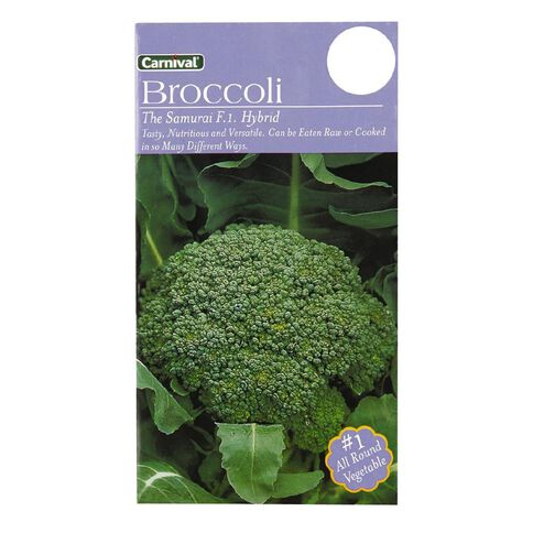 Carnival Seeds The Samurai Broccoli Vegetable