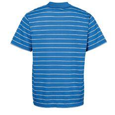Basics Brand Men's Stripe Polo