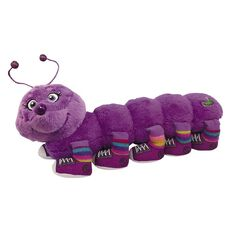 Lots A Legs Caterpillar Plush with 10 Legs Assorted