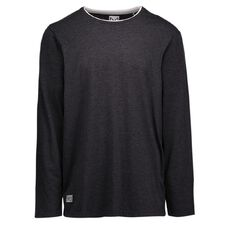 Match Double Neck Long Sleeve Marle Tee