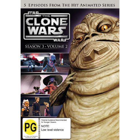 Star Wars Clone Wars Season 3 V2 DVD 1Disc