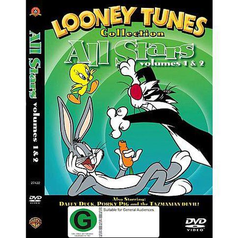 Looney Toons All Stars DVD 1Disc