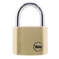 Yale 110 Series Padlock Brass 40mm