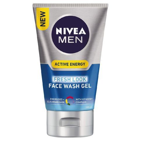Nivea For Men Revitalising Face Wash 100ml