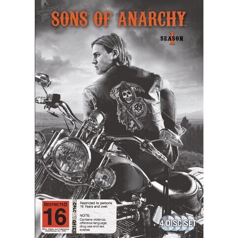 Sons of Anarchy Season 1 DVD 4Disc
