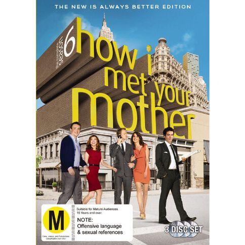 How I Met Your Mother Season 6 DVD 3Disc