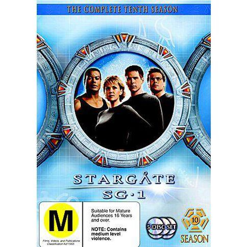 Stargate SG1 Season 10 DVD 5Disc
