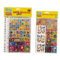 Little Hands Stickers 4000 Pack