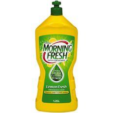Morning Fresh Concentrate Dishwash Liquid Lemon Fresh 1.25L