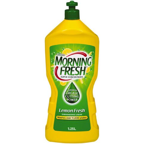 Morning Fresh Concentrate Dishwash Liquid Lemon Fresh 1.25L