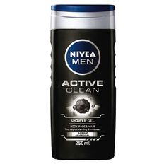 Nivea Men Shower Gel Active Clean 500ml
