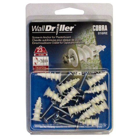 Cobra Wall Driller Nylon 3.5mm 12 Pack