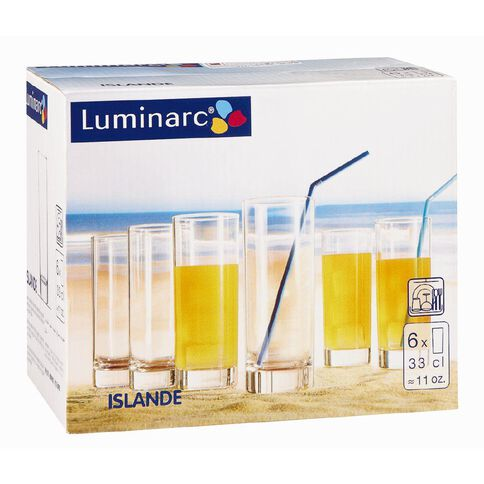 Luminarc Islande Highball 330ml 6 Pack