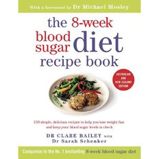 The 8-Week Blood Sugar Diet Recipe Book by Clare Bailey & Sarah Schenker