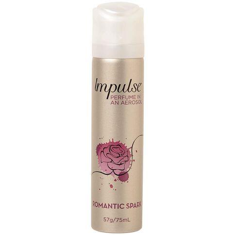 Impulse Body Spray Romantic Spark 57g