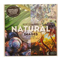 Calendar 2017 NZ Natural Images Compact 180mm x 180mm
