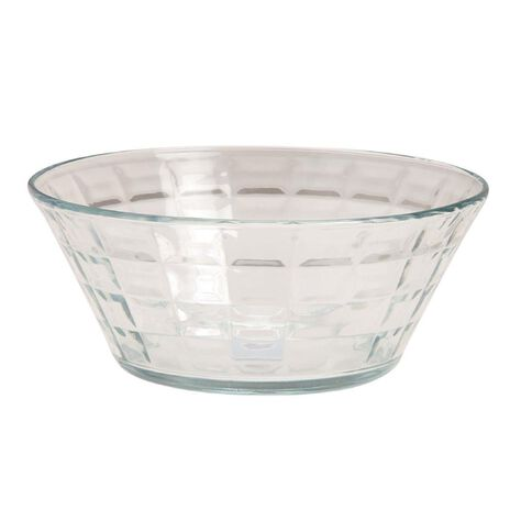 Necessities Brand Glass Serving Bowl 9 inch