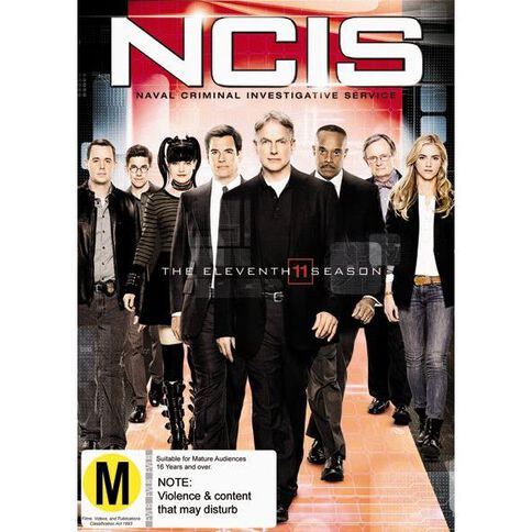 NCIS Season 11 DVD 5Disc