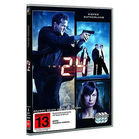 24 Season 7 DVD 6Disc