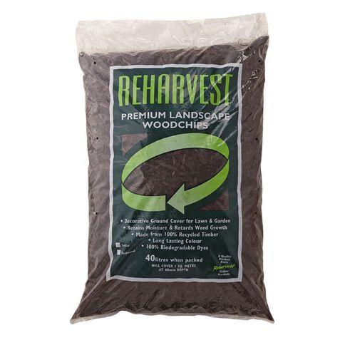Reharvest Mulch Brown 40L Gold