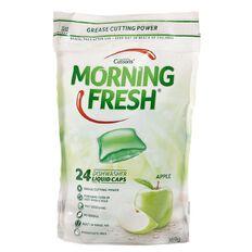 Morning Fresh Auto Liquid Capsules Apple 24 Pack