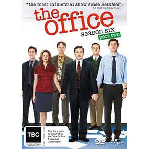 Office Season 6 Part 2 The 3DVD