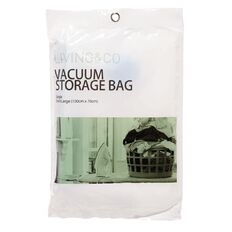 Living & Co Vacuum Storage Bag Extra Large Single