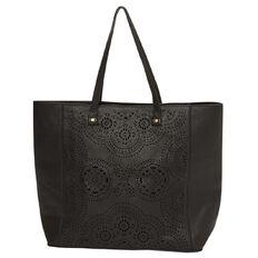 Debut Cut Out Tote Handbag