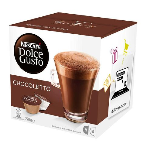 Nescafe Capsules Hot Chocolate 8 Pack