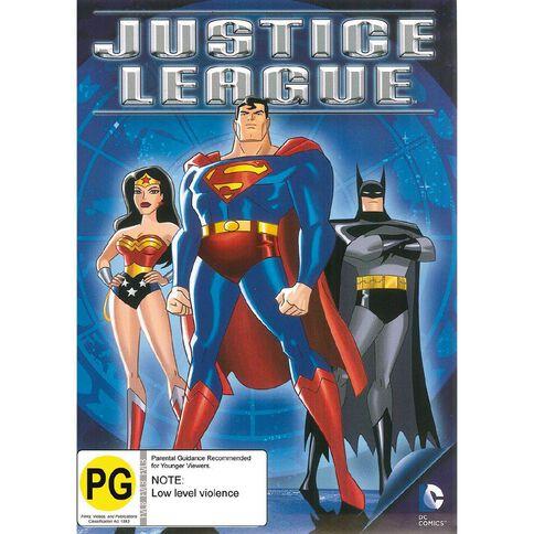 Justice League DVD 1Disc