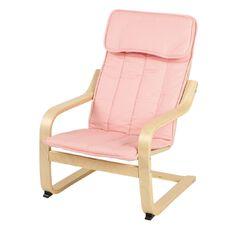 Ikea Poang Kids' Armchair Almas Pink/Birch Veneer 47cm x 68cm