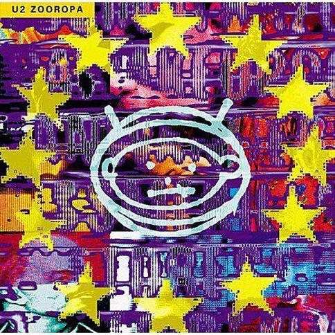 Zooropa CD by U2 1Disc
